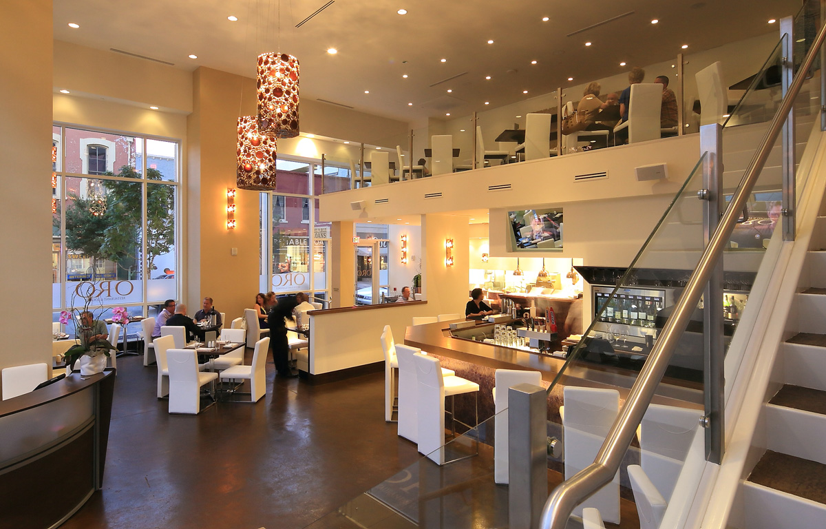 Interior design restaurant architecture oro