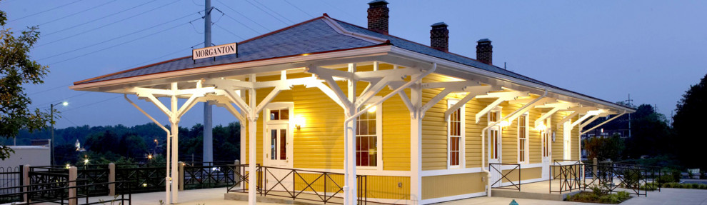 Morganton Train Depot